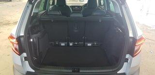 2019 Skoda Karoq NU MY19 110TSI DSG FWD Silver 7 Speed Sports Automatic Dual Clutch Wagon.