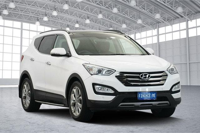 Used Hyundai Santa Fe DM2 MY15 Highlander, 2015 Hyundai Santa Fe DM2 MY15 Highlander Cream 6 Speed Sports Automatic Wagon