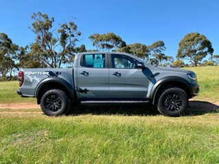 2018 Ford Ranger PX MKIII 2019.0 Raptor Pick-up Double Cab Conquer Grey 10 Speed Automatic