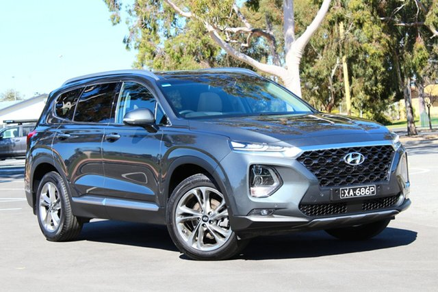 Used Hyundai Santa Fe TM MY19 Highlander, 2018 Hyundai Santa Fe TM MY19 Highlander Rain Forest 8 Speed Sports Automatic Wagon