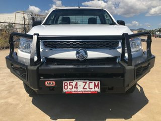 2012 Holden Colorado RG MY13 DX White 5 Speed Manual Cab Chassis