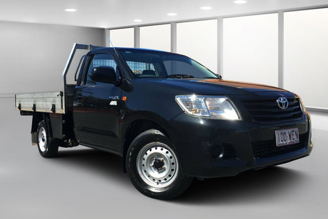Used Toyota Hilux TGN16R MY12 Workmate, 2011 Toyota Hilux TGN16R MY12 Workmate Ink 5 Speed Manual Cab Chassis