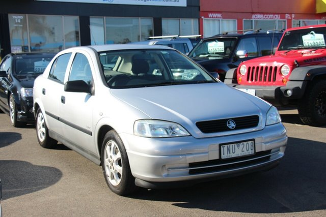 Used Holden Astra TS MY05 Classic Equipe, 2005 Holden Astra TS MY05 Classic Equipe Silver 4 Speed Automatic Hatchback