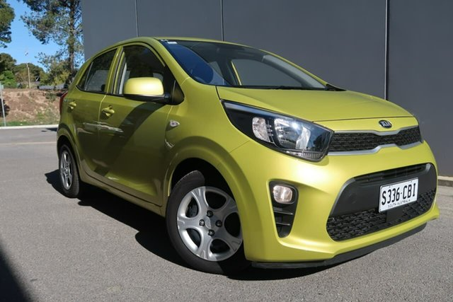 Used Kia Picanto JA MY19 S, 2018 Kia Picanto JA MY19 S Green 4 Speed Automatic Hatchback