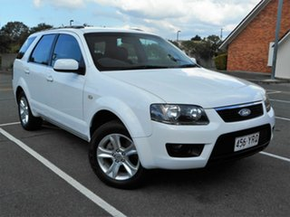 2010 Ford Territory SY MkII TX White 4 Speed Sports Automatic Wagon.