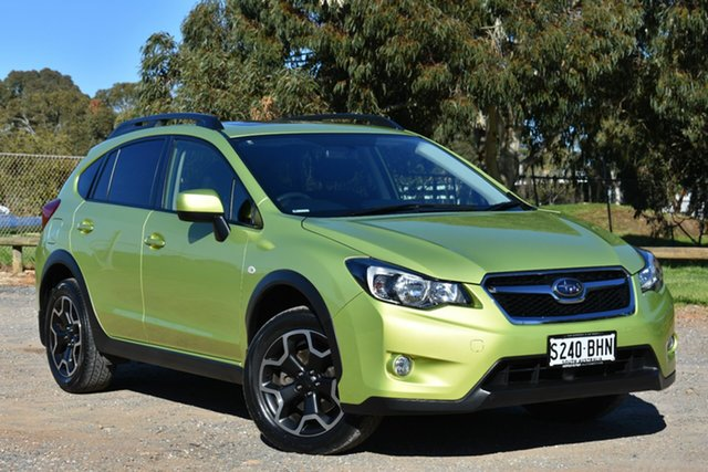 Used Subaru XV G4X MY15 2.0i-L Lineartronic AWD, 2015 Subaru XV G4X MY15 2.0i-L Lineartronic AWD Green 6 Speed Constant Variable Wagon