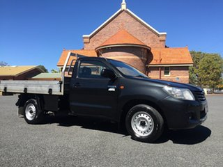 2011 Toyota Hilux TGN16R MY12 Workmate Ink 5 Speed Manual Cab Chassis.