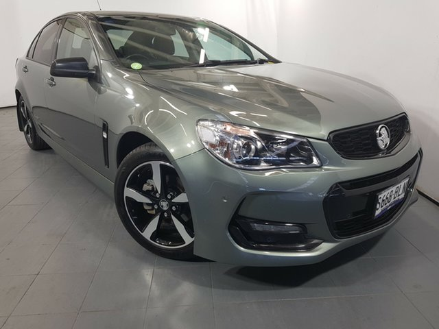 Used Holden Commodore VF II MY16 SV6 Black, 2016 Holden Commodore VF II MY16 SV6 Black Dark Grey 6 Speed Sports Automatic Sedan