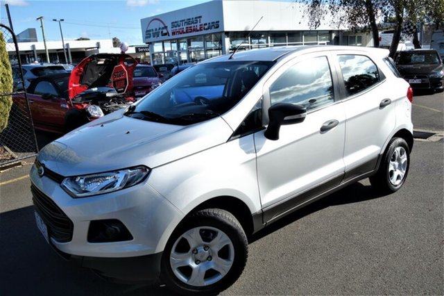 Used Ford Ecosport BK Ambiente PwrShift, 2015 Ford Ecosport BK Ambiente PwrShift Silver 6 Speed Sports Automatic Dual Clutch Wagon