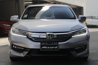 2019 Honda Accord 9th Gen MY18 VTi-L Lunar Silver 5 Speed Sports Automatic Sedan.