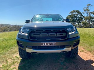 2018 Ford Ranger PX MKIII 2019.0 Raptor Pick-up Double Cab Conquer Grey 10 Speed Automatic.
