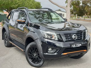2019 Nissan Navara D23 S4 MY19 N-TREK Cosmic Black 7 Speed Sports Automatic Utility.