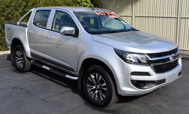 Demo Holden Colorado RG MY19 LS Pickup Crew Cab, 2019 Holden Colorado RG MY19 LS Pickup Crew Cab Nitrate 6 Speed Sports Automatic Utility