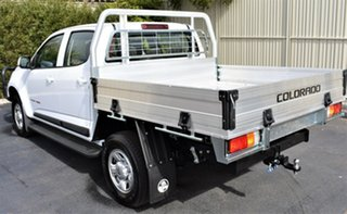 2019 Holden Colorado RG MY19 LS Crew Cab Summit White 6 Speed Sports Automatic Cab Chassis