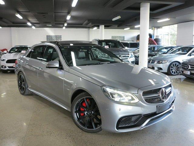 Used Mercedes-Benz E-Class W212 805MY E63 AMG SPEEDSHIFT MCT S, 2014 Mercedes-Benz E-Class W212 805MY E63 AMG SPEEDSHIFT MCT S Palladium Silver 7 Speed