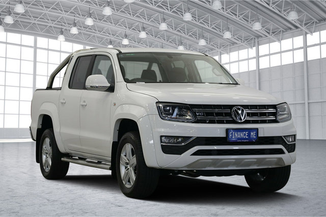 Used Volkswagen Amarok 2H MY17 TDI550 4MOTION Perm Highline, 2017 Volkswagen Amarok 2H MY17 TDI550 4MOTION Perm Highline White 8 Speed Automatic Utility