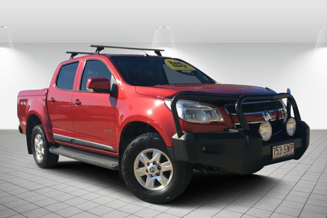 Used Holden Colorado RG MY13 LT Crew Cab, 2013 Holden Colorado RG MY13 LT Crew Cab Sizzle 5 Speed Manual Utility