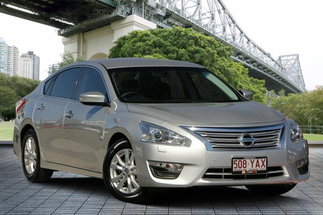 Used Nissan Altima L33 ST-L X-tronic, 2015 Nissan Altima L33 ST-L X-tronic Silver 1 Speed Constant Variable Sedan