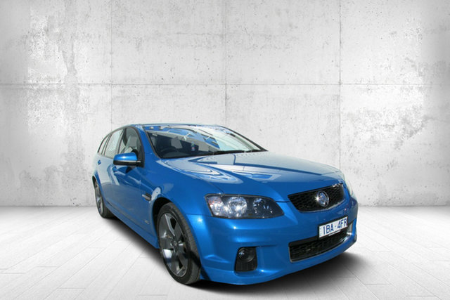 Used Holden Commodore VE II MY12.5 SV6 Sportwagon Z Series, 2013 Holden Commodore VE II MY12.5 SV6 Sportwagon Z Series Blue 6 Speed Sports Automatic Wagon