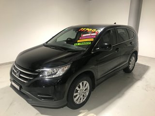 2012 Honda CR-V RM VTi Black 5 Speed Automatic Wagon.