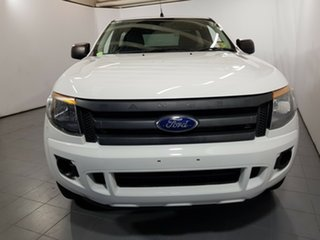 2013 Ford Ranger PX XL 4x2 White 6 Speed Manual Utility.