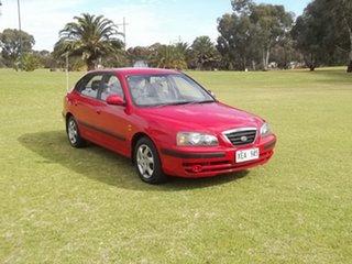 2005 Hyundai Elantra XD MY05 FX Red 4 Speed Automatic Hatchback