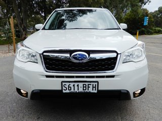 2015 Subaru Forester S4 MY15 2.5i-S CVT AWD White 6 Speed Constant Variable Wagon.