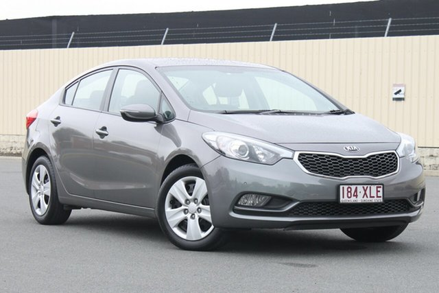 Used Kia Cerato YD MY15 S, 2015 Kia Cerato YD MY15 S Grey 6 Speed Sports Automatic Sedan