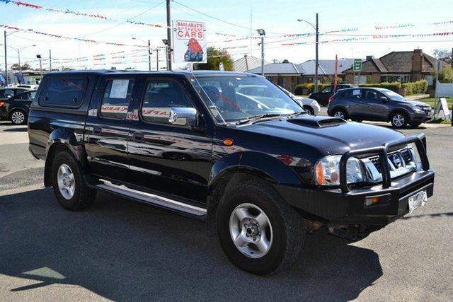 Used Nissan Navara D22 Series 5 ST-R (4x4), 2013 Nissan Navara D22 Series 5 ST-R (4x4) Black 5 Speed Manual Dual Cab Pick-up
