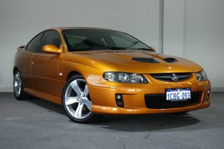 2005 Holden Monaro VZ CV8 Z Orange 6 Speed Manual Coupe.