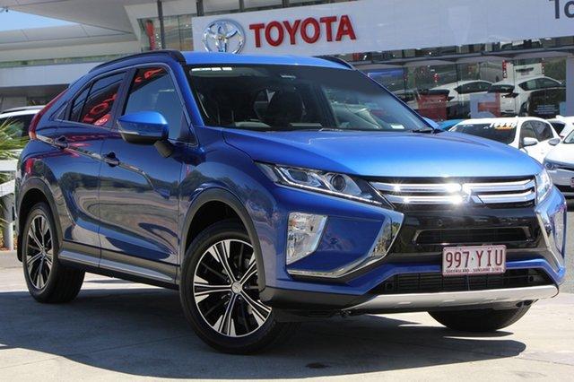 Used Mitsubishi Eclipse Cross YA MY18 LS 2WD, 2018 Mitsubishi Eclipse Cross YA MY18 LS 2WD Blue 8 Speed Constant Variable Wagon
