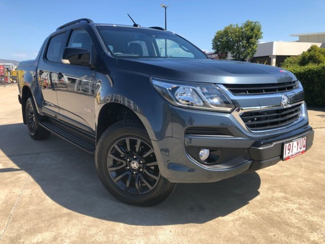 Used Holden Colorado RG MY19 Z71 Pickup Crew Cab, 2018 Holden Colorado RG MY19 Z71 Pickup Crew Cab Dark Shadow 6 Speed Sports Automatic Utility