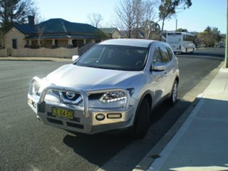 2015 Nissan X-Trail T32 ST X-tronic 4WD Brilliant Silver 7 Speed Constant Variable Wagon.