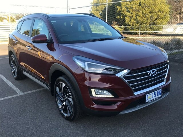 Demo Hyundai Tucson TL3 MY19 Highlander AWD, 2019 Hyundai Tucson TL3 MY19 Highlander AWD Gemstone Red 8 Speed Sports Automatic Wagon