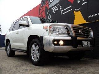 2014 Toyota Landcruiser VDJ200R MY13 VX Crystal White Pearl 6 Speed Sports Automatic Wagon