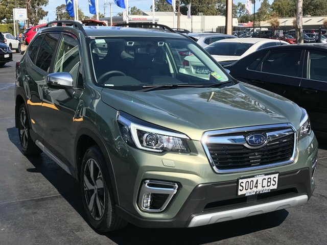 Demo Subaru Forester S5 MY19 2.5i-S CVT AWD, 2019 Subaru Forester S5 MY19 2.5i-S CVT AWD Jasper Green Metallic 7 Speed Constant Variable Wagon