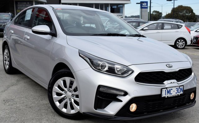 Used Kia Cerato BD MY19 S, 2018 Kia Cerato BD MY19 S Silver 6 Speed Sports Automatic Sedan