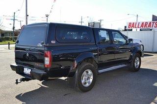 2013 Nissan Navara D22 Series 5 ST-R (4x4) Black 5 Speed Manual Dual Cab Pick-up