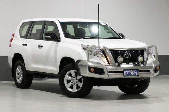 Used Toyota Landcruiser Prado KDJ150R MY14 GX (4x4), 2014 Toyota Landcruiser Prado KDJ150R MY14 GX (4x4) White 6 Speed Manual Wagon