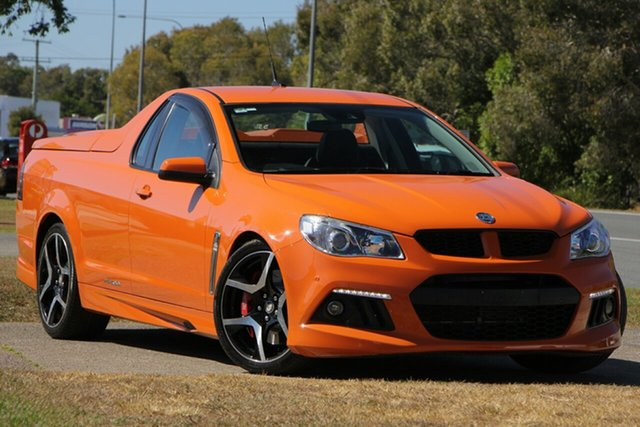 Used Holden Special Vehicles Maloo Gen-F MY14 R8, 2013 Holden Special Vehicles Maloo Gen-F MY14 R8 Orange 6 Speed Sports Automatic Utility