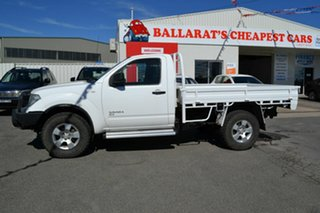 2011 Nissan Navara D40 MY11 RX (4x4) White 6 Speed Manual King Cab Chassis