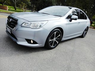 2014 Subaru Liberty B6 MY15 2.5i CVT AWD Ice Silver 6 Speed Constant Variable Sedan