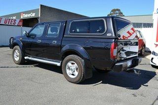 2013 Nissan Navara D22 Series 5 ST-R (4x4) Black 5 Speed Manual Dual Cab Pick-up.