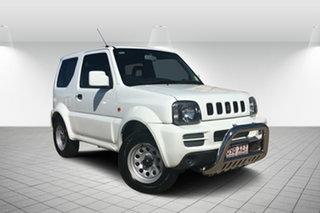 2010 Suzuki Jimny SN413 T6 JX White 5 Speed Manual Hardtop.
