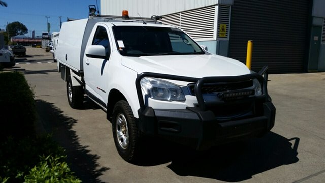Used Holden Colorado RG MY15 LS, 2015 Holden Colorado RG MY15 LS White 6 Speed Sports Automatic Cab Chassis