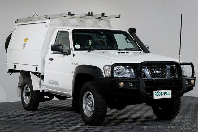 Used Nissan Patrol Y61 GU 6 SII MY13 DX, 2013 Nissan Patrol Y61 GU 6 SII MY13 DX Cloud 5 Speed Manual Cab Chassis