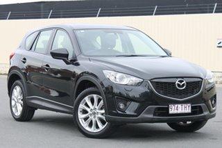 2013 Mazda CX-5 KE1031 MY13 Grand Touring SKYACTIV-Drive AWD Jet Black 6 Speed Sports Automatic.
