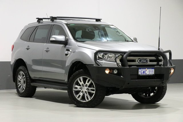 Used Ford Everest UA Trend, 2016 Ford Everest UA Trend Silver 6 Speed Automatic Wagon