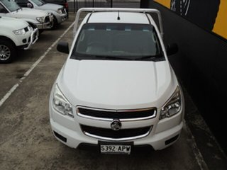 2012 Holden Colorado RG MY13 DX Summit White 5 Speed Manual Cab Chassis