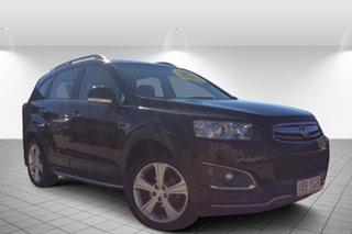 2014 Holden Captiva CG MY14 7 AWD LT Black 6 Speed Sports Automatic Wagon.